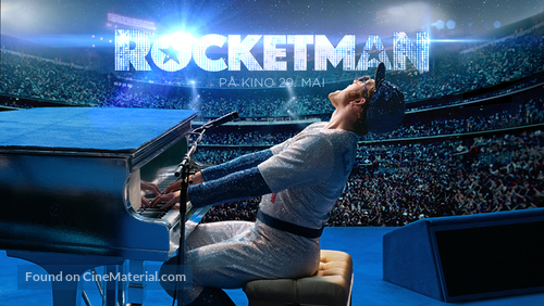 Rocketman - Norwegian Movie Poster