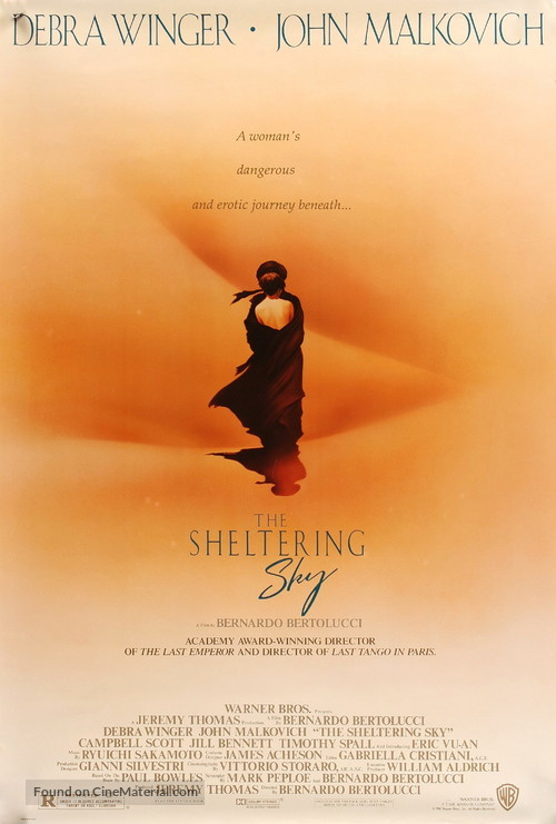 The Sheltering Sky - Movie Poster
