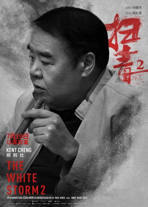 The White Storm 2: Drug Lords Hong Kong movie poster