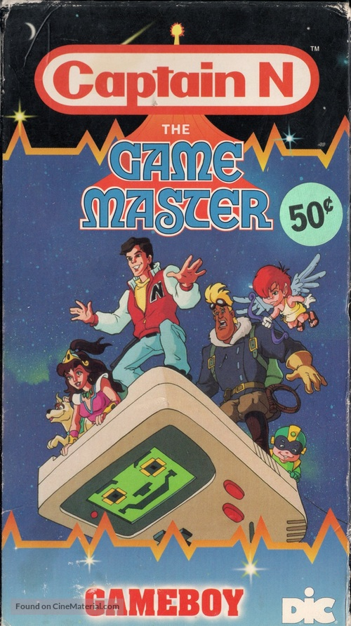 """""""Captain N: The Game Master"""" - VHS movie cover"""