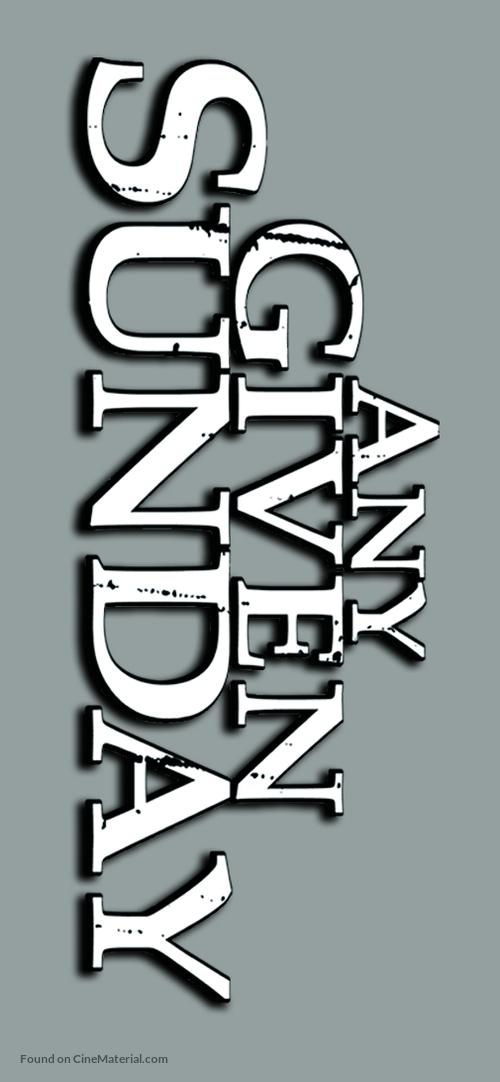 Any Given Sunday - Logo