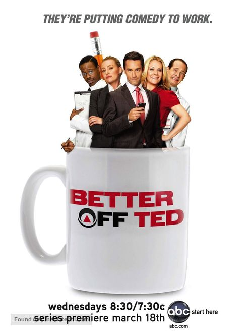 """""""Better Off Ted"""" - Movie Poster"""