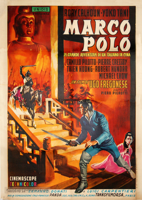 Marco Polo - Italian Movie Poster