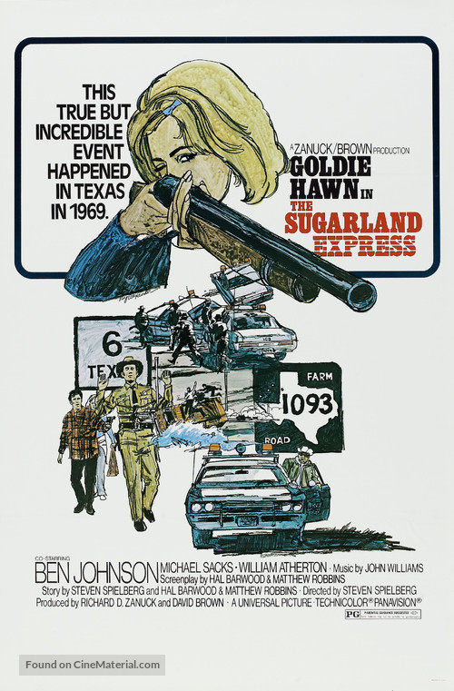 The Sugarland Express - Movie Poster