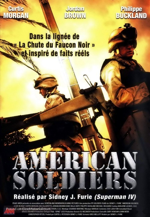 American Soldiers - French Movie Poster