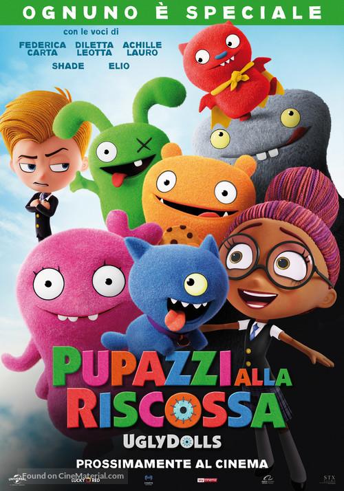 UglyDolls - Italian Movie Poster