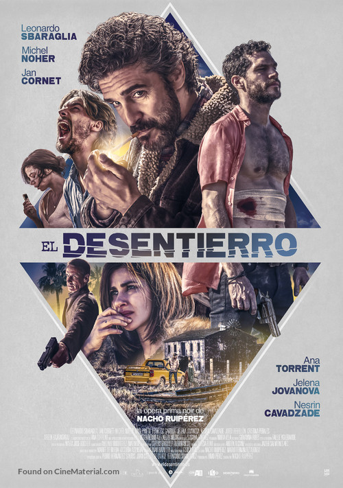 El desentierro - Spanish Movie Poster