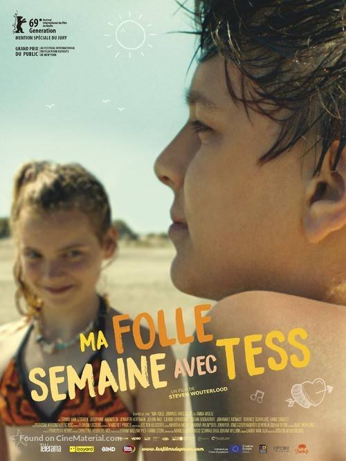 My Extraordinary Summer with Tess - French Movie Poster