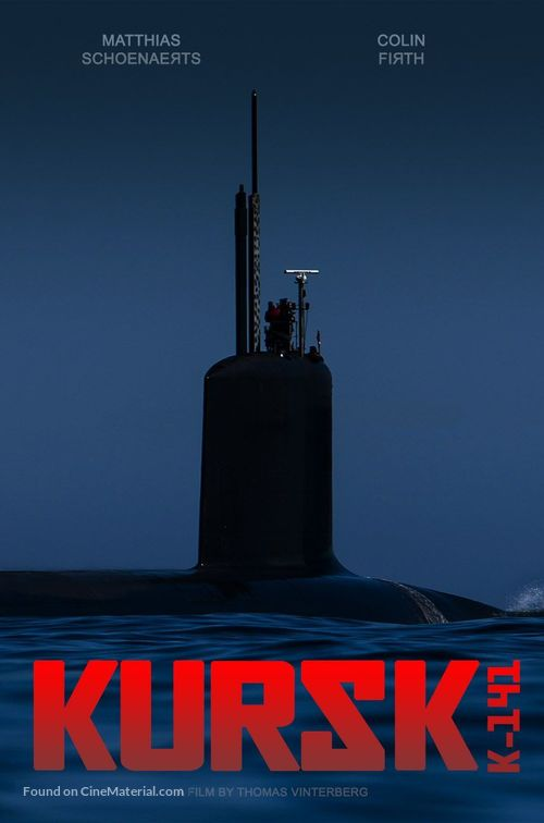 Kursk - Belgian Movie Poster