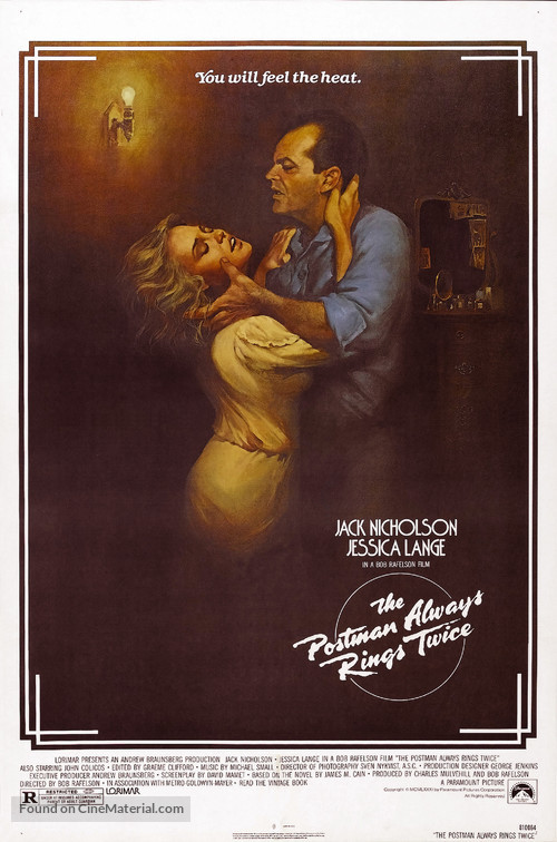 The Postman Always Rings Twice - Movie Poster