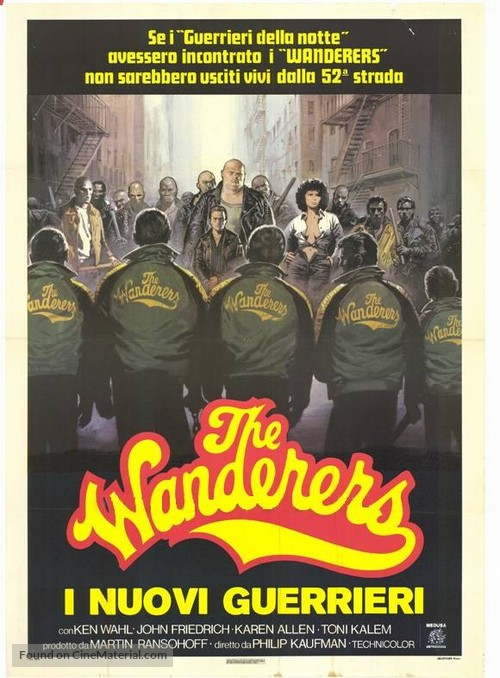 The Wanderers - Italian Movie Poster