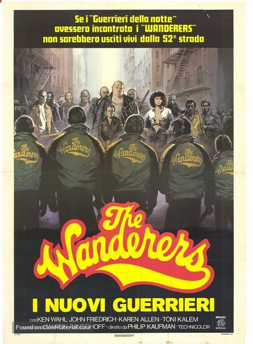 The Wanderers - Italian Movie Poster