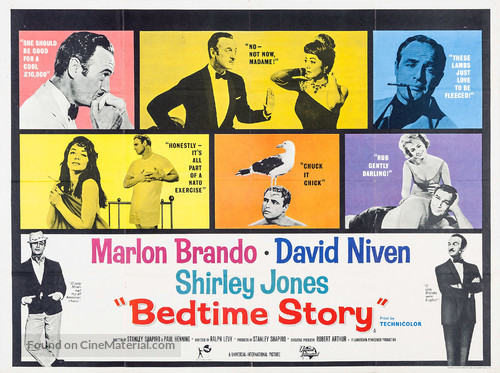 Bedtime Story - British Movie Poster