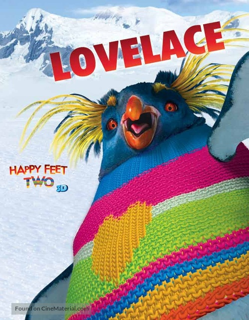 Happy Feet Two - Movie Poster