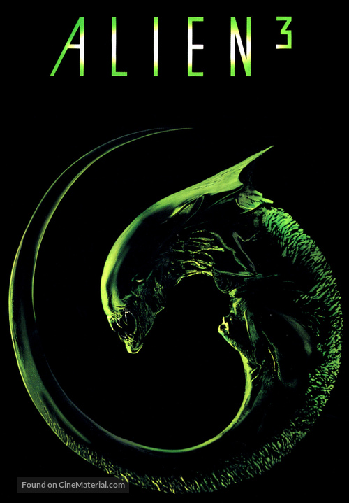 Alien 3 - DVD movie cover