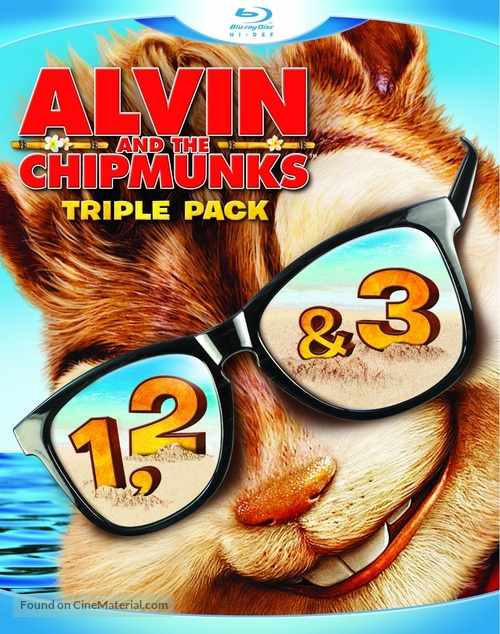 Alvin and the Chipmunks - Blu-Ray cover