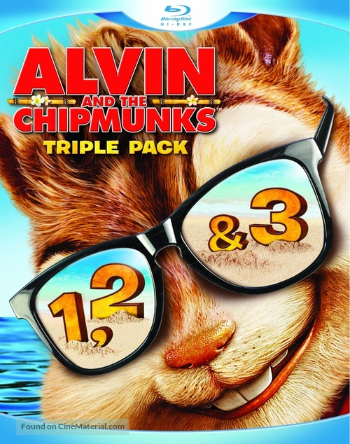 Alvin and the Chipmunks - Blu-Ray movie cover