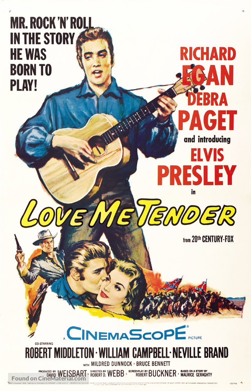 Love Me Tender - Movie Poster