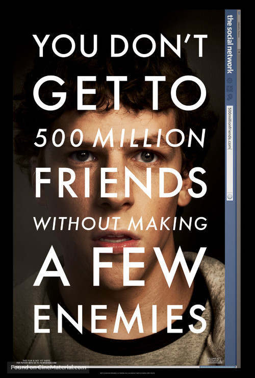 The Social Network - Movie Poster
