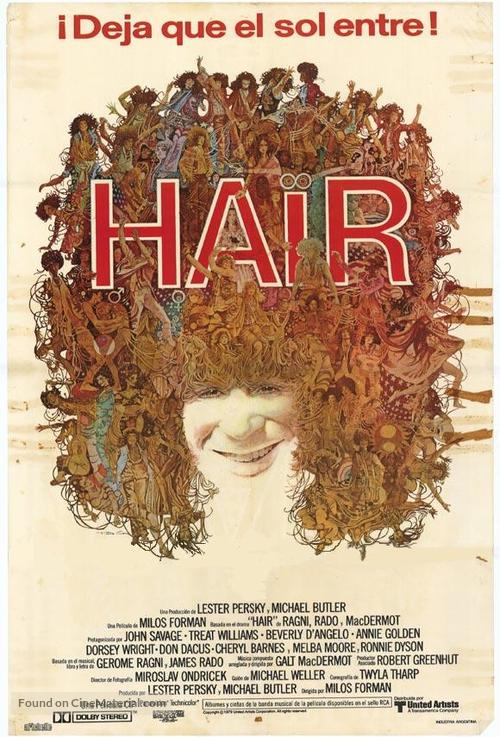 Hair - Argentinian Theatrical poster