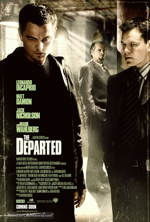 The Departed - Movie Poster