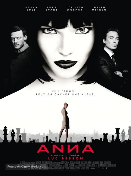 Anna - French Movie Poster