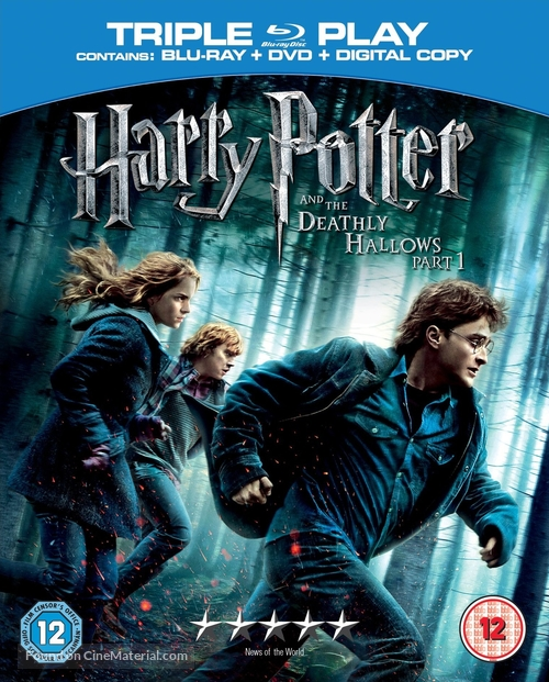 Harry Potter and the Deathly Hallows: Part I - British Movie Cover