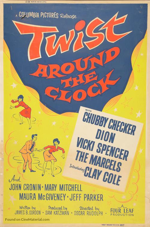 Twist Around the Clock - British Movie Poster