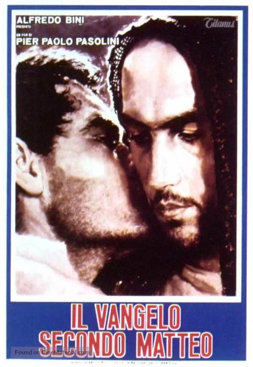 Il vangelo secondo Matteo - Italian Movie Poster