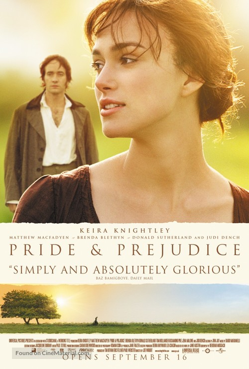 Pride & Prejudice - Theatrical poster