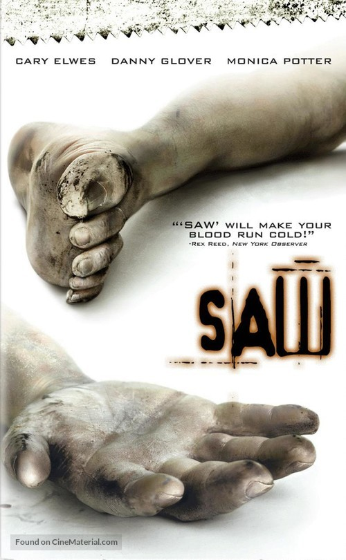 Saw - DVD cover