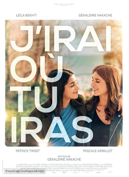 J'irai où tu iras - French Movie Poster