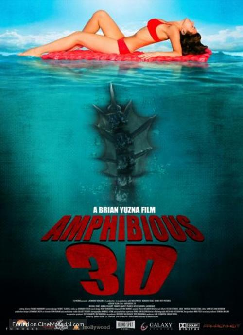 Amphibious 3D - Movie Poster
