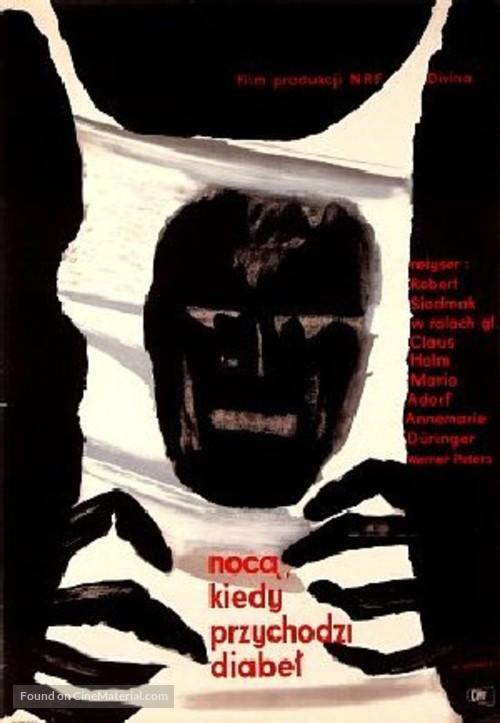 Nachts, wenn der Teufel kam - Polish Movie Poster