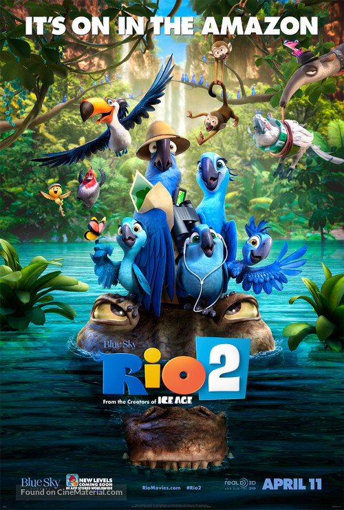 Rio 2 - Movie Poster