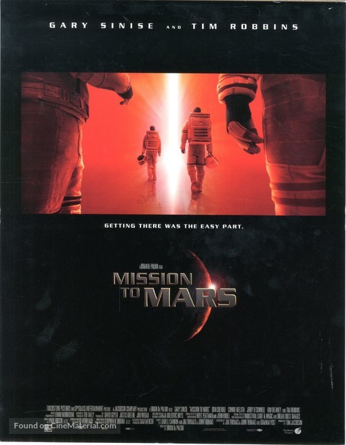 Mission To Mars - Movie Poster