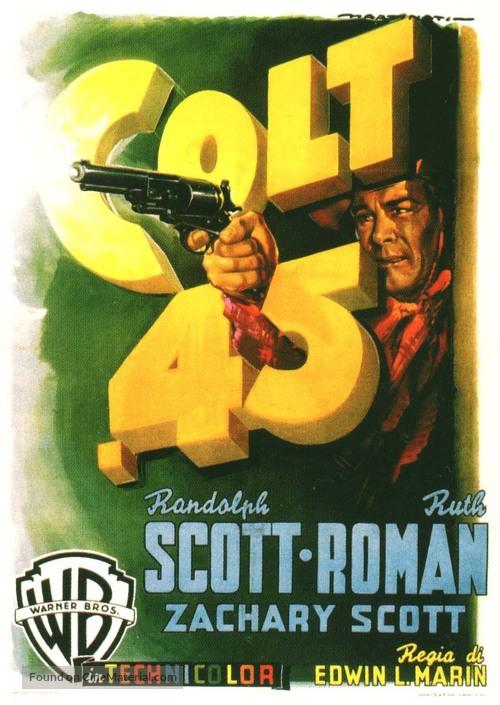 Colt .45 - Italian Movie Poster