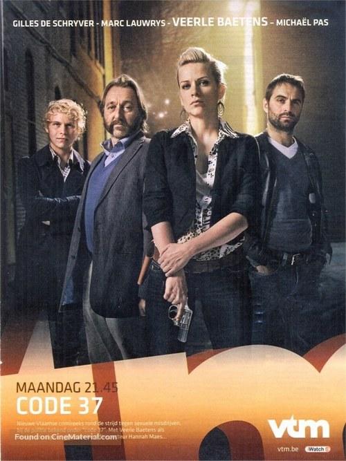 """Code 37"" - Belgian Movie Poster"