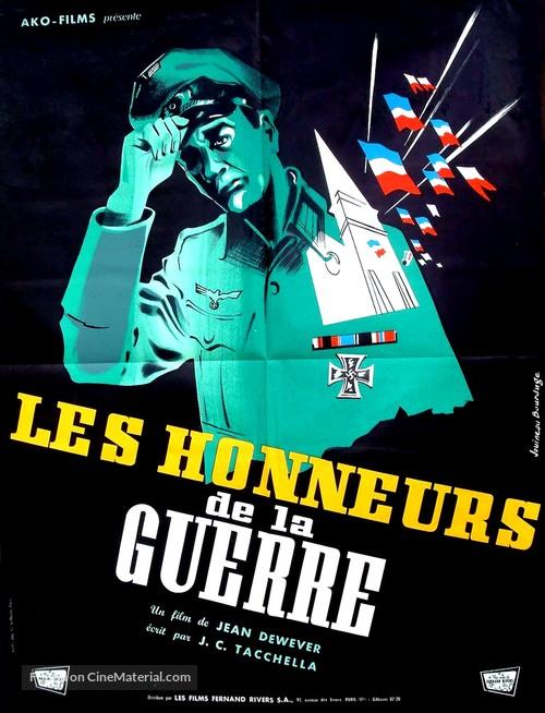 Honneurs de la guerre, Les - French Movie Poster