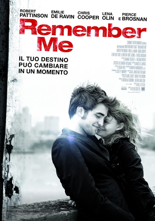 Remember Me - Italian Movie Poster