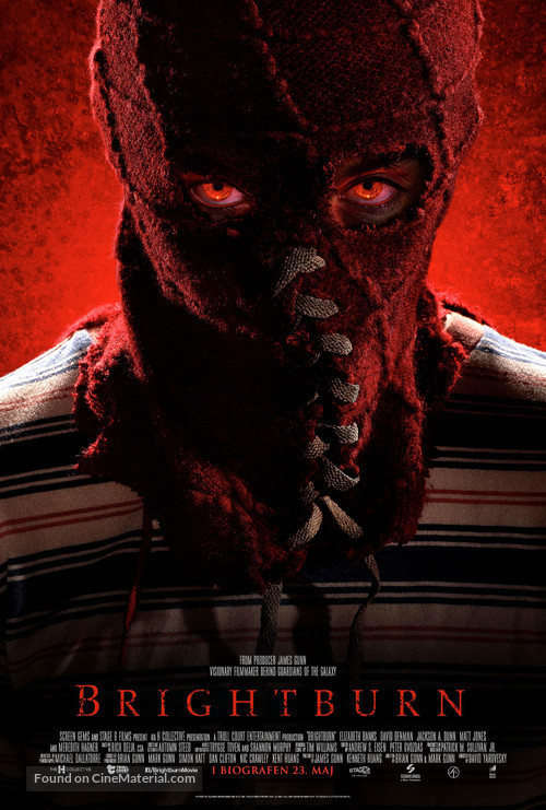 Brightburn - Danish Movie Poster