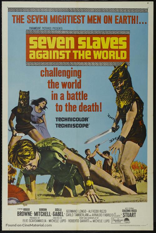 Schiavi più forti del mondo, Gli - Movie Poster