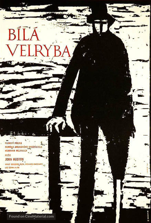 Moby Dick - Czech Movie Poster
