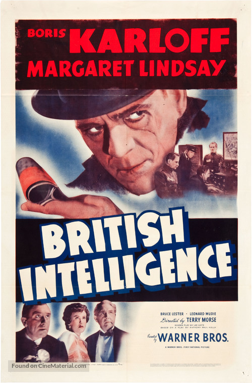 British Intelligence - Movie Poster