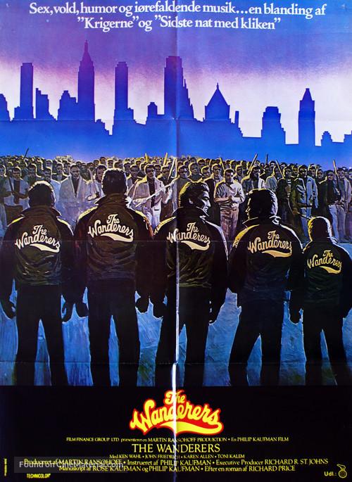 The Wanderers - Danish Movie Poster