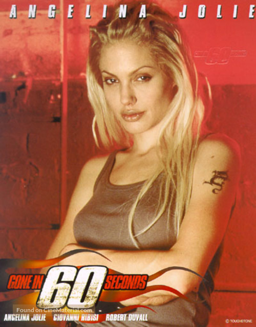 Gone In 60 Seconds - Thai Movie Poster