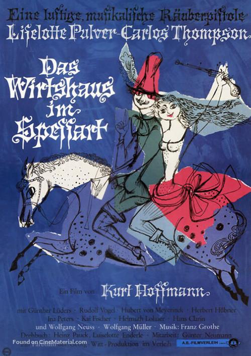 Das Wirtshaus im Spessart - German Movie Poster