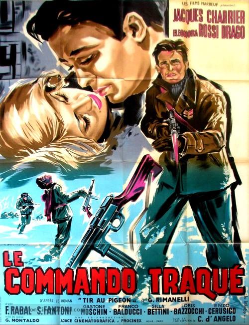 Tiro al piccione - French Movie Poster