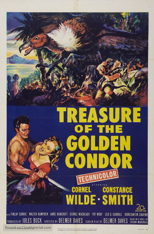 Treasure of the Golden Condor - Movie Poster