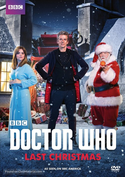 """Doctor Who"" - DVD movie cover"